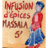 Infusion d'épices Massala