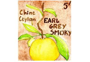 Thé fumé de Chine Earl Grey Smoky