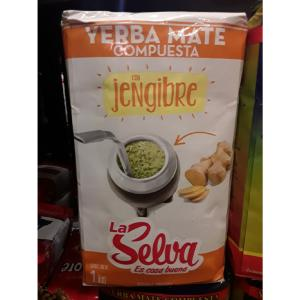 Infusion Yerba Mate Selva Gingembre